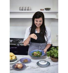 HK living - Home Chef pastatallerken, Rustik blå