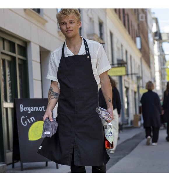 The Organic Company - Forklæde med lomme, Clay