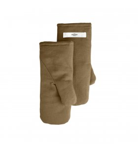 The Organic Company - Grillhandsker Khaki, Medium