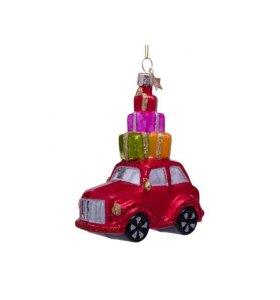 Vondels - Rød bil med gaver