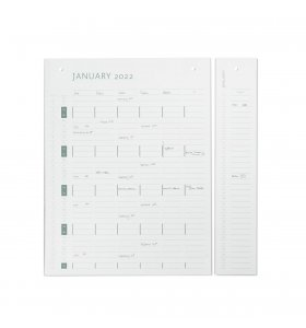 by Wirth - Kalender, Refill 2021/2022