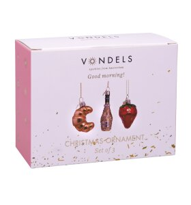 Vondels - Goodmorning, Miniornamenter
