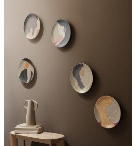 ferm LIVING - Keramikplatte, Hessa