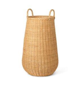 ferm LIVING - Braided vasketøjskurv, Natur