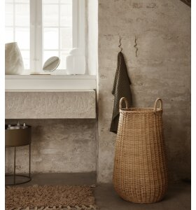 ferm LIVING - Braided vasketøjskurv, Natur