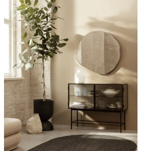 ferm LIVING - Pond spejl XL, Messing - Hent selv