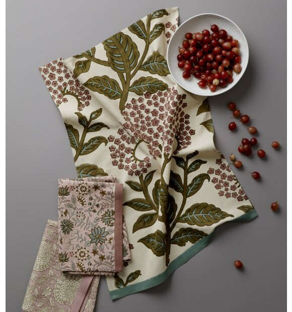 BUNGALOW - Viskestykke Elderflower Moss