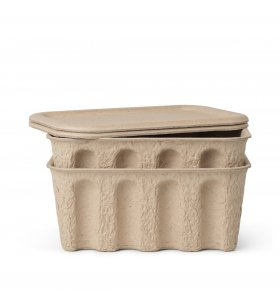 ferm LIVING - Paper Pulp Box Small, 2 stk