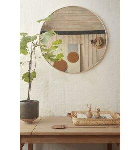OYOY Living Design - Mun vægspejl, Natur - hent selv