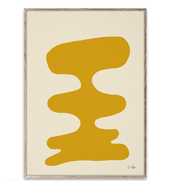 Paper Collective - Soft Yellow by Anna Mörner, 30*40
