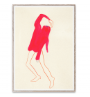 Paper Collective - The Pink Pose by Amelie Hegardt, 30*40