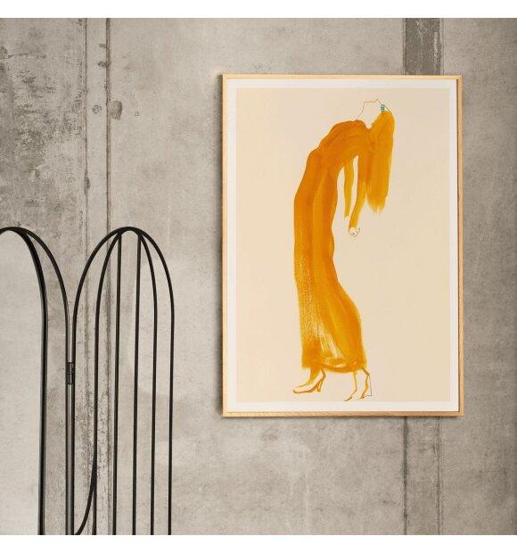Paper Collective - The Saffron Dress by Amelie Hegardt, 30*40