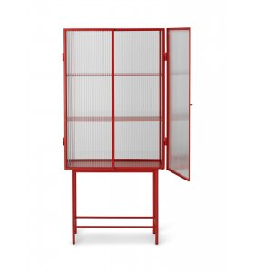 ferm LIVING - Haze Vitrine, Poppy Red - Hent selv