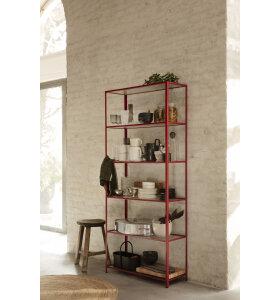 ferm LIVING - Haze Reol, Poppy Red - Hent selv - se den i vores butik