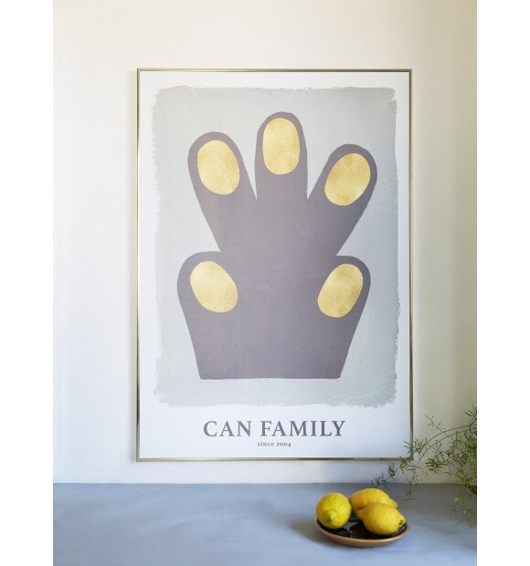 CAn Family - Plakat Hand/Paw 50*70