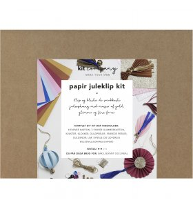 KIT company - Papir Juleklip Kit