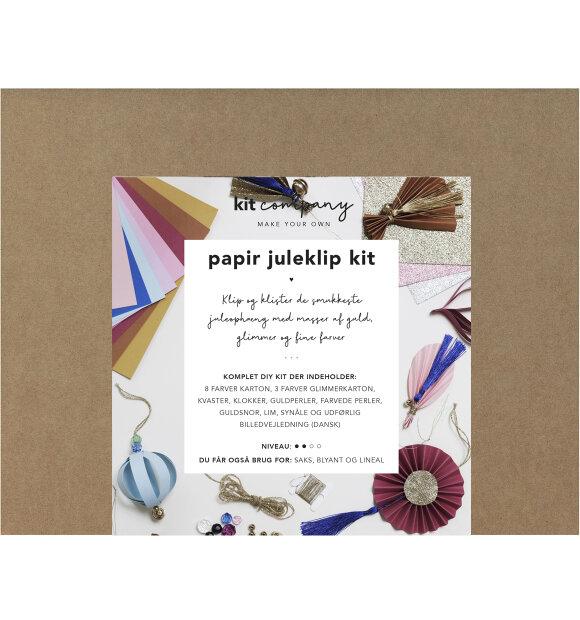 KIT company - Papir Juleklip Kit