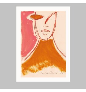 Paper Collective - Pink Portrait by Loulou Avenue, 30*40