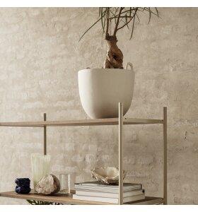 ferm LIVING - Speckle urtepotteskjuler/potte, Large Ø30 cm.
