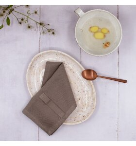 The Organic Company - Servietter Everyday Napkin 4 stk, Clay