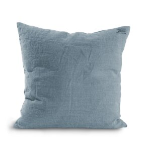 Lovely Linen - Lovely Pudebetræk 50x50, Dusty blue