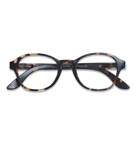 Have A Look - Læsebrille Circle Tortoise