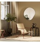 ferm LIVING - Loungestol Desert, Poppy Red/Sand
