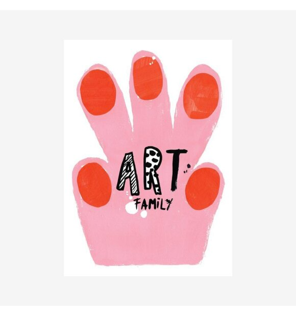 CAn Family - Art Family plakat, Hand Paw, A3