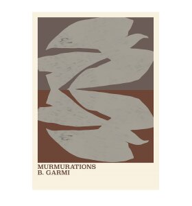 The Poster Club - Murmurations Brown By Garmi 50*70
