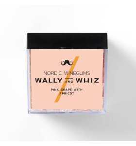 Wally and Whiz - Pink Grape med abrikos