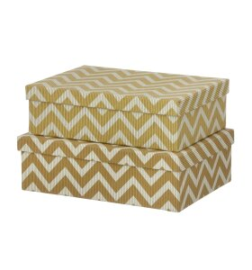 BUNGALOW - Oblong Duo-Box L, Wiggy Camel