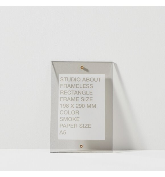 Studio About - Frameless A5, Rectangle
