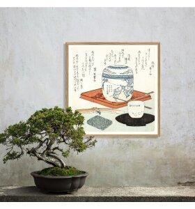 The Dybdahl Co. - Japanese Still Life #4826, 61x61