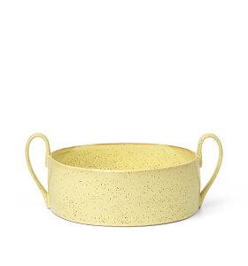 ferm LIVING - Flow Centrepiece, Yellow speckle