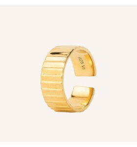 Vincent - Eternal Stair Ring, Forgyldt