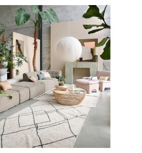 HK living - Wicker Sofabord - Hent selv