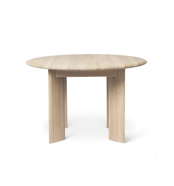 ferm LIVING - Bevel spisebord massiv eg, Ø:117