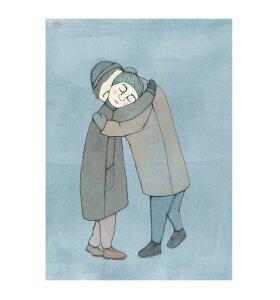 Kirstine Falk - A Hug, A5