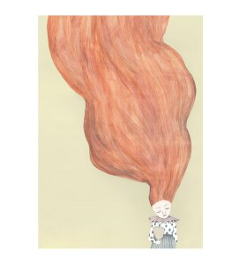 Kirstine Falk - Bad hair day, A5