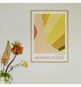 Monna Studio - Yellow Scale 50*70 - uden ramme
