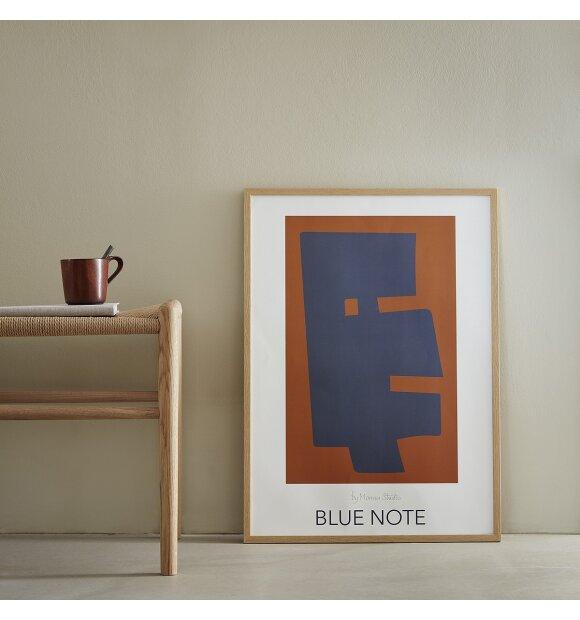 Monna Studio - Blue note 50*70 - uden ramme