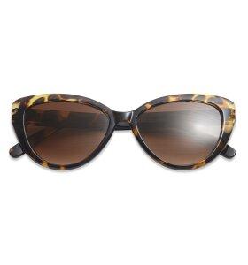 Have A Look - Solbrille Cat Eye Tortoise - u. styrke