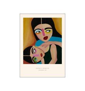 Poster and Frame - Sophie Ohmsen, Opmærksom, 30*40