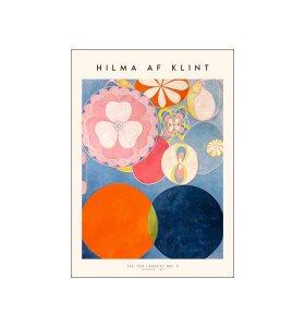 Poster and Frame - Hilma af Klint, The Ten Largest 02, 50*70