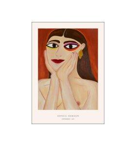 Poster and Frame - Sophie Ohmsen, Nøgen 50*70