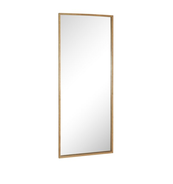 Hübsch - XL Spejl i massivt egetræ 70*185 cm. - Hent selv/sendes ikke
