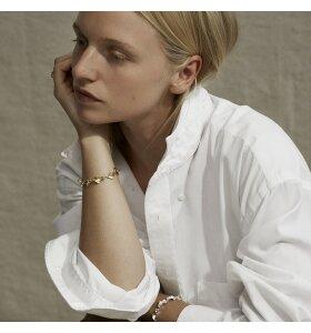 Trine Tuxen - Armbånd Josephine, forgyldt