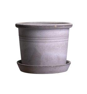 Bergs Potter - Udendørskrukke Galestro Grå, Ø:35*27 - Hent selv