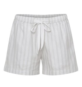 Care By Me - Vivienne shorts, Lysegrå/Hvid