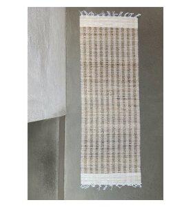Care By Me - Balance Løber, Stripe/White 60*170
